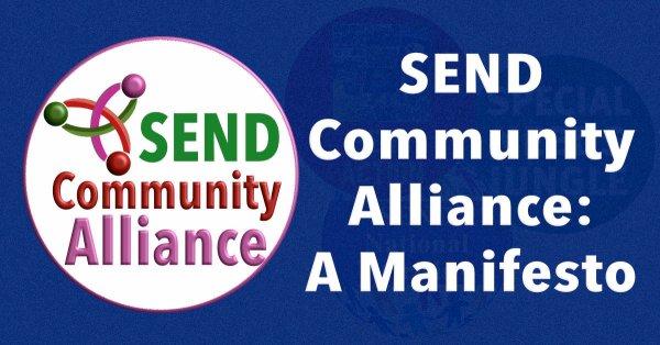 SEND Community Alliance: A Manifesto