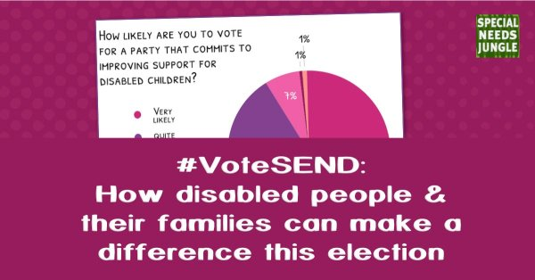 #VoteSEND: How disabled people & their families can make a difference this election