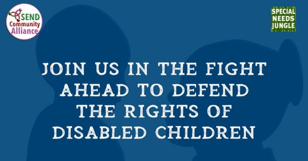 Join us in the fight ahead to defend the rights of disabled children