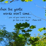 When Words Won't Come