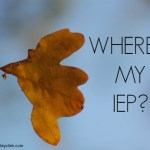 Where's my IEP?