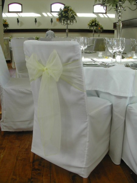 where to buy chair covers in cape town silver dining chairs and table wedding flowers decor event florist linen organza tie backs