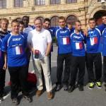 Equipe SKF SOFrance avec PDG SKF Monde