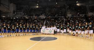 Le SLUC Nancy a reçu des athlètes SOF lors du tournoi Euroleague de 2011