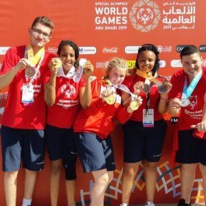 Jeux Mondiaux Special Olympics Abu Dhabi 2019