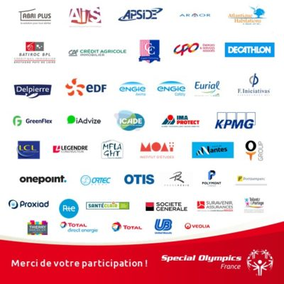 Pavés logos entreprises participantes Nantes 2019