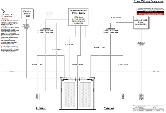wiring diagram services  special projects group inc