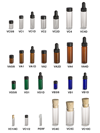 glass vials wholesale amber