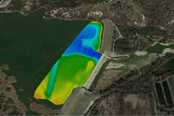 Geohazard Assessment of A Lake Dam in Texas by Acoustic Multibeam Survey