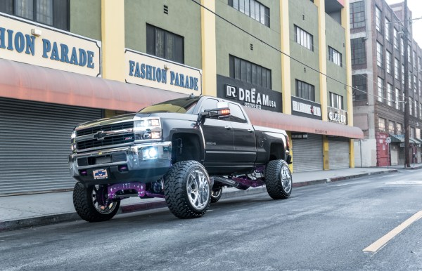 Chevrolet 2500 Hd Sf002 24x14 - Specialty Forged Wheels