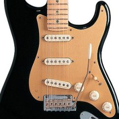 Gibson Guitar Wiring Diagrams One Room Electrical Diagram Fender '57 Strat Pickguard, Gold Anodized Aluminum - Free Shipping Over $75