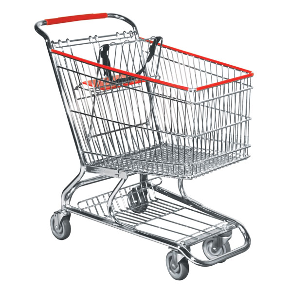 Grocery Shopping Carts for Sale: Standard Size Metal Wire