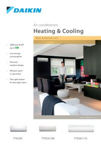 Wall Mounted Heating & Cooling Units | Specifile
