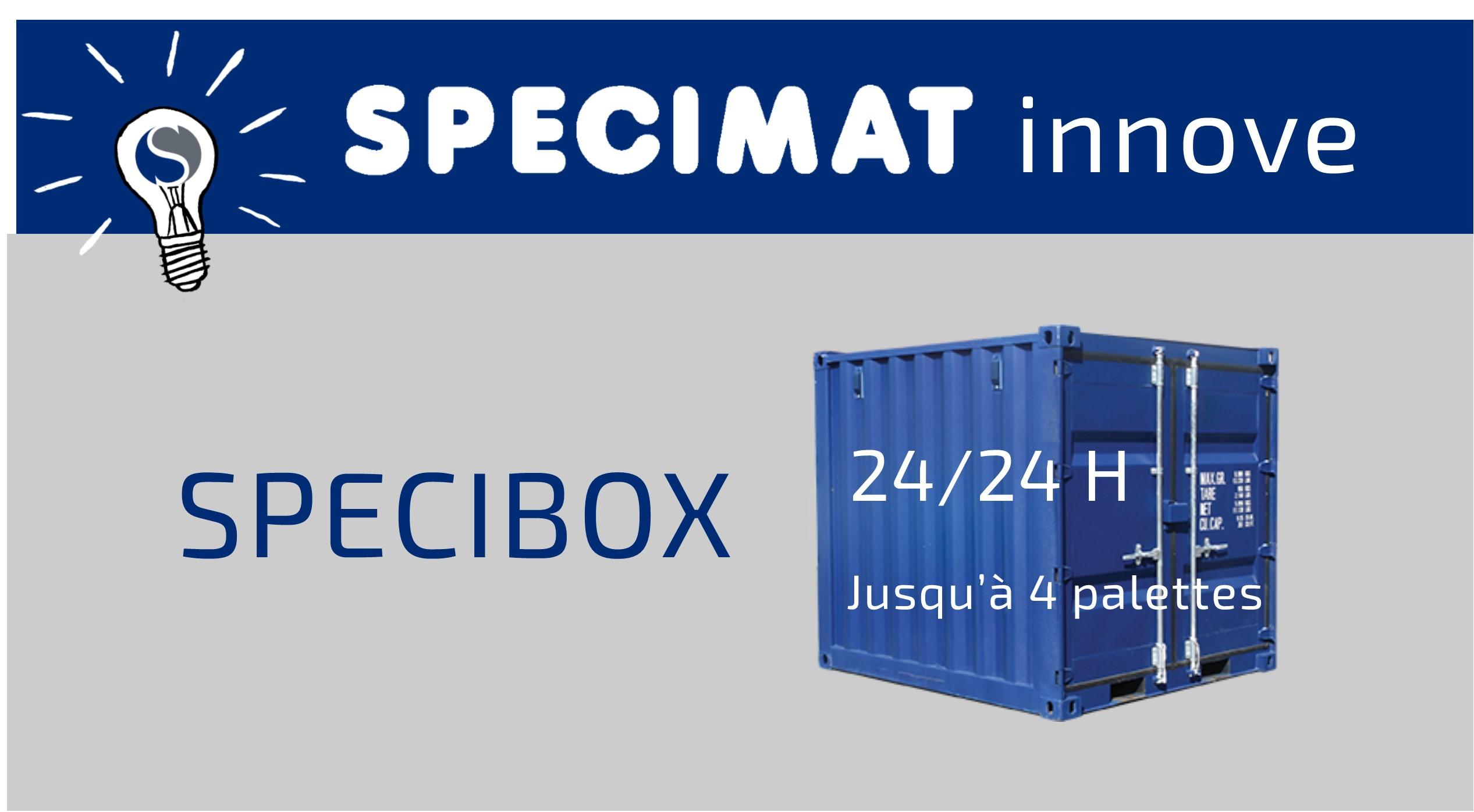 SPECIBOX nouveau service