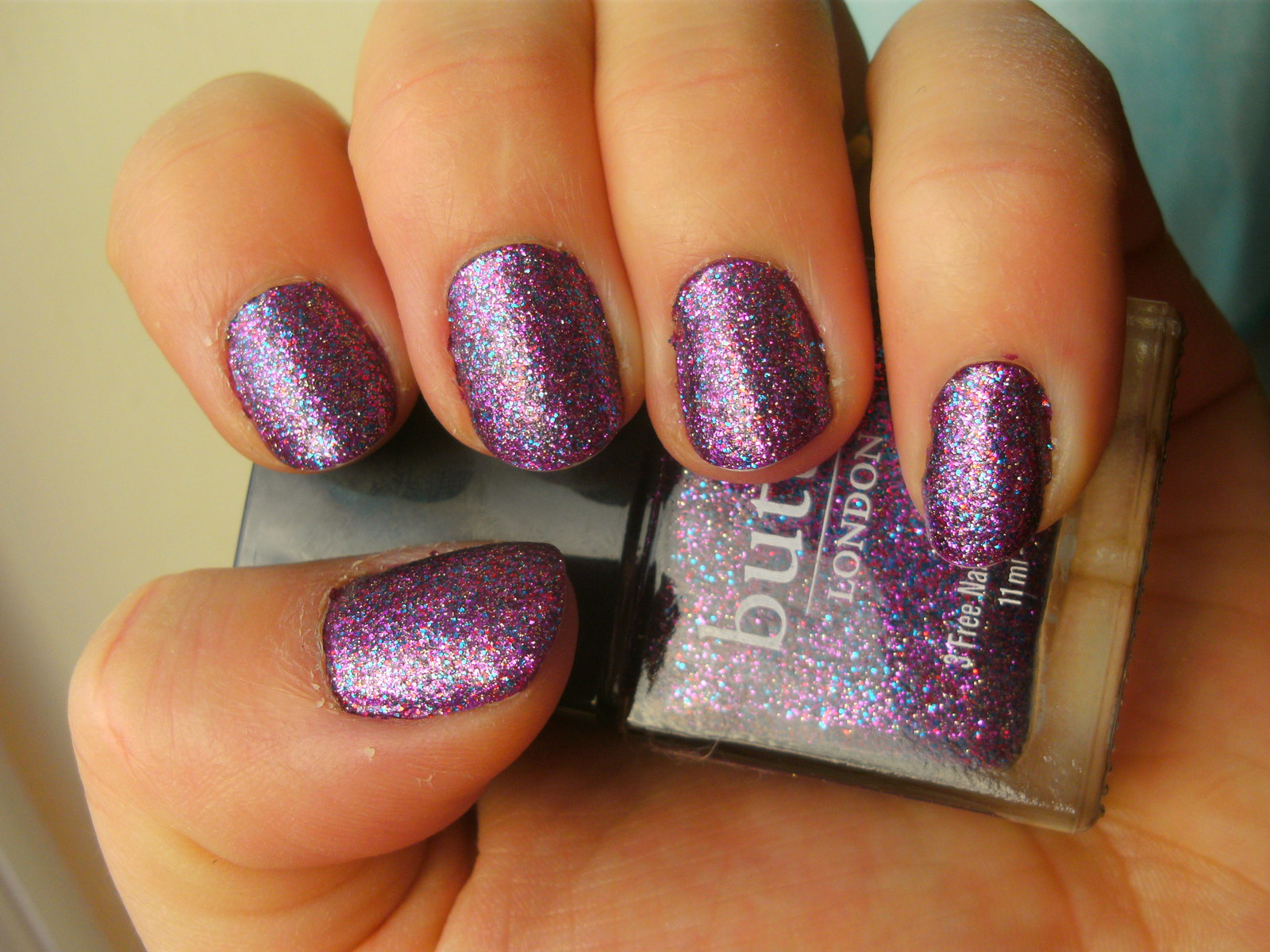 Almost Fot To Post This My Cur Mani Er London Lovely Jubbly Over Zoya Mason