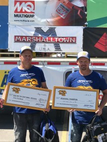 1st place and Top Craftsman, mason Brian Tuttle and tender Scott Tuttle