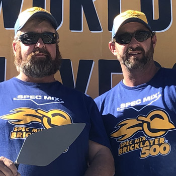 2019 SPEC MIX BRICKLAYER 500 West Tennessee Regional Winner Fred Campbell