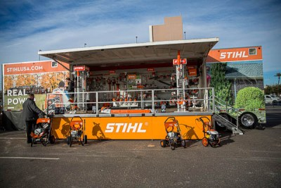 STIHL at the 2020 SPEC MIX BRICKLAYER 500