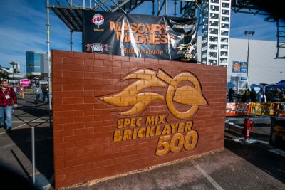 Belden Brick at the SPEC MIX BRICKLAYER 500