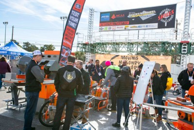 iQ Power Tools at the SPEC MIX BRICKLAYER 500