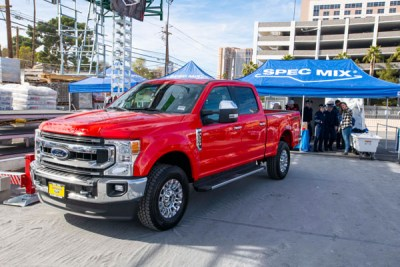 Ford Trucks at the SPEC MIX BRICKLAYER 500