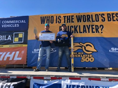 SPEC MIX BRICKLAYER 500 WEST TENNESSEE REGIONAL SERIES - 1st PLACE