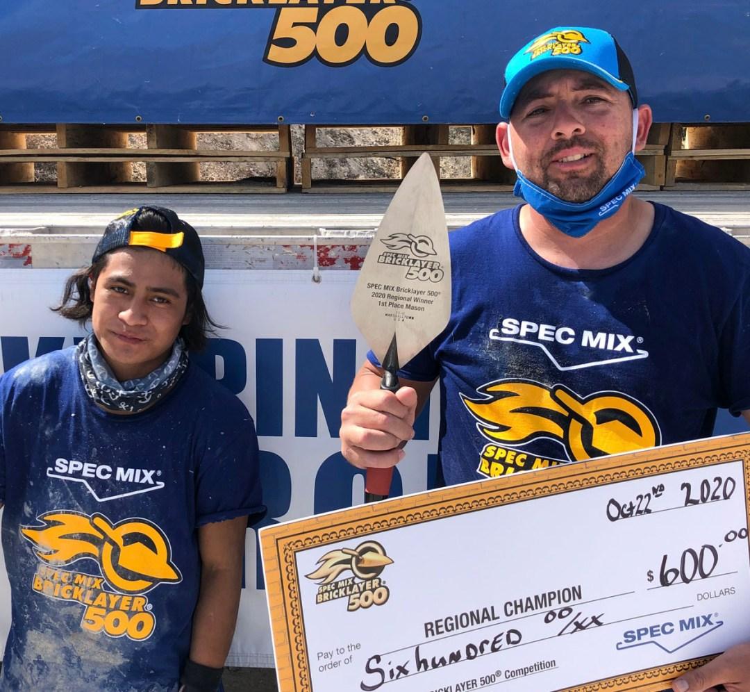 2020 SPEC MIX BRICKLAYER 500 Ohio Regional
