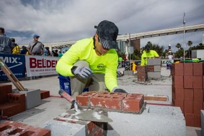 MCAA's Masonry Skills Challenge at World of Concrete