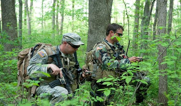Unconventional Warfare Mission conducted by the Green Berets US Special Forces Soldiers