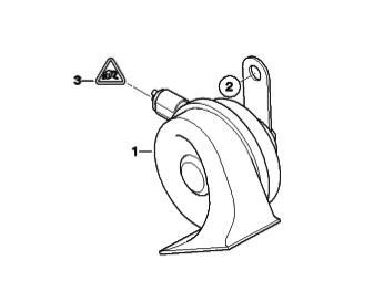 MINI Horn Repair DIY