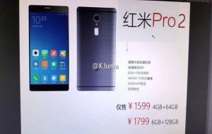 Xiaomi Redmi Pro 2 Specifications, Price and Expected Release Date