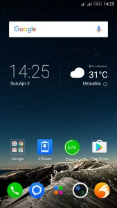 Infinix Hit 4 Lite Display