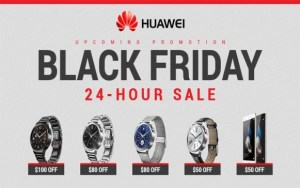 Huawei Black Friday Deals and Cyber Monday (November 23 to 27, 2017)