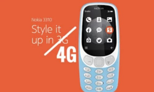 Nokia 3310 4G Specifications, Features, Price and Availability