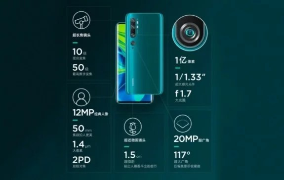 Xiaomi Mi CC9 Pro Full Specification, Price and Release Date