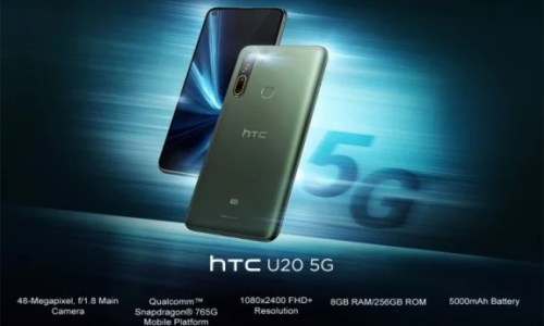 HTC U20 5G Announced in Taiwan; See Its Full Specification