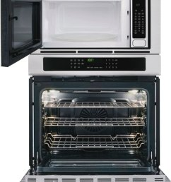frigidaire gallery gallery 30 electric wall oven microwave combination [ 832 x 1000 Pixel ]