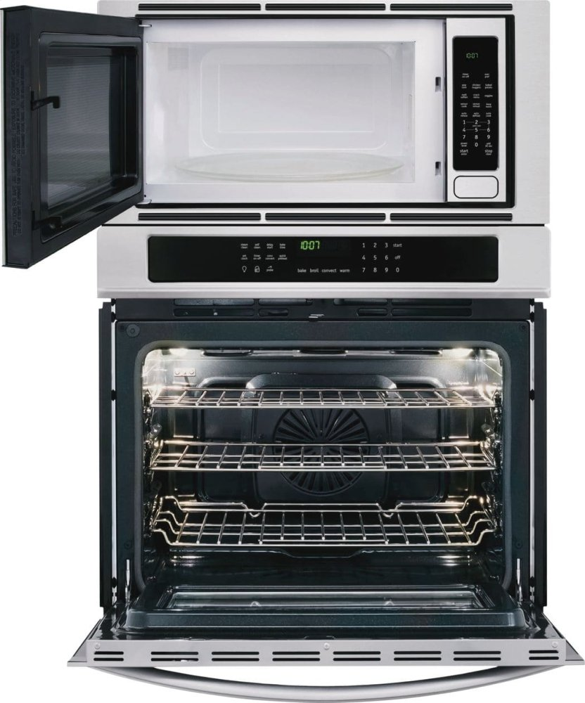 hight resolution of frigidaire gallery gallery 30 electric wall oven microwave combination