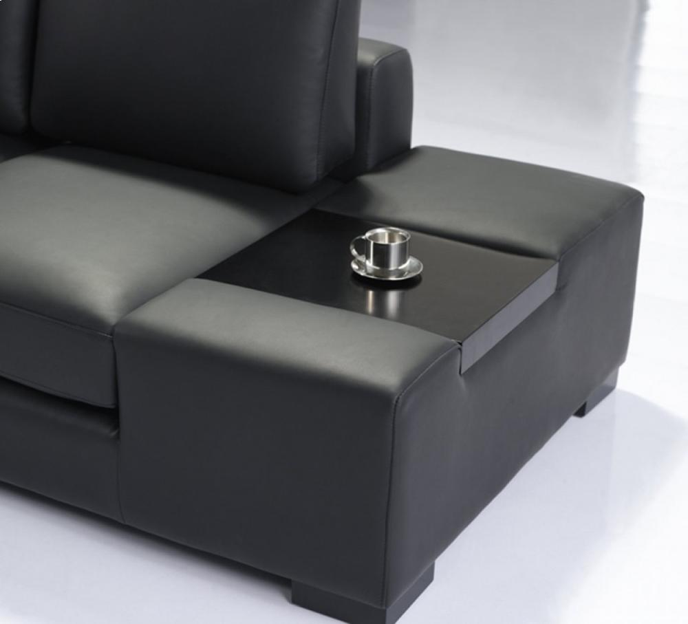 t35 mini modern white leather sectional sofa how do you fix a hole in vgyit35mini2 by vig furniture duluth mn divani casa with light