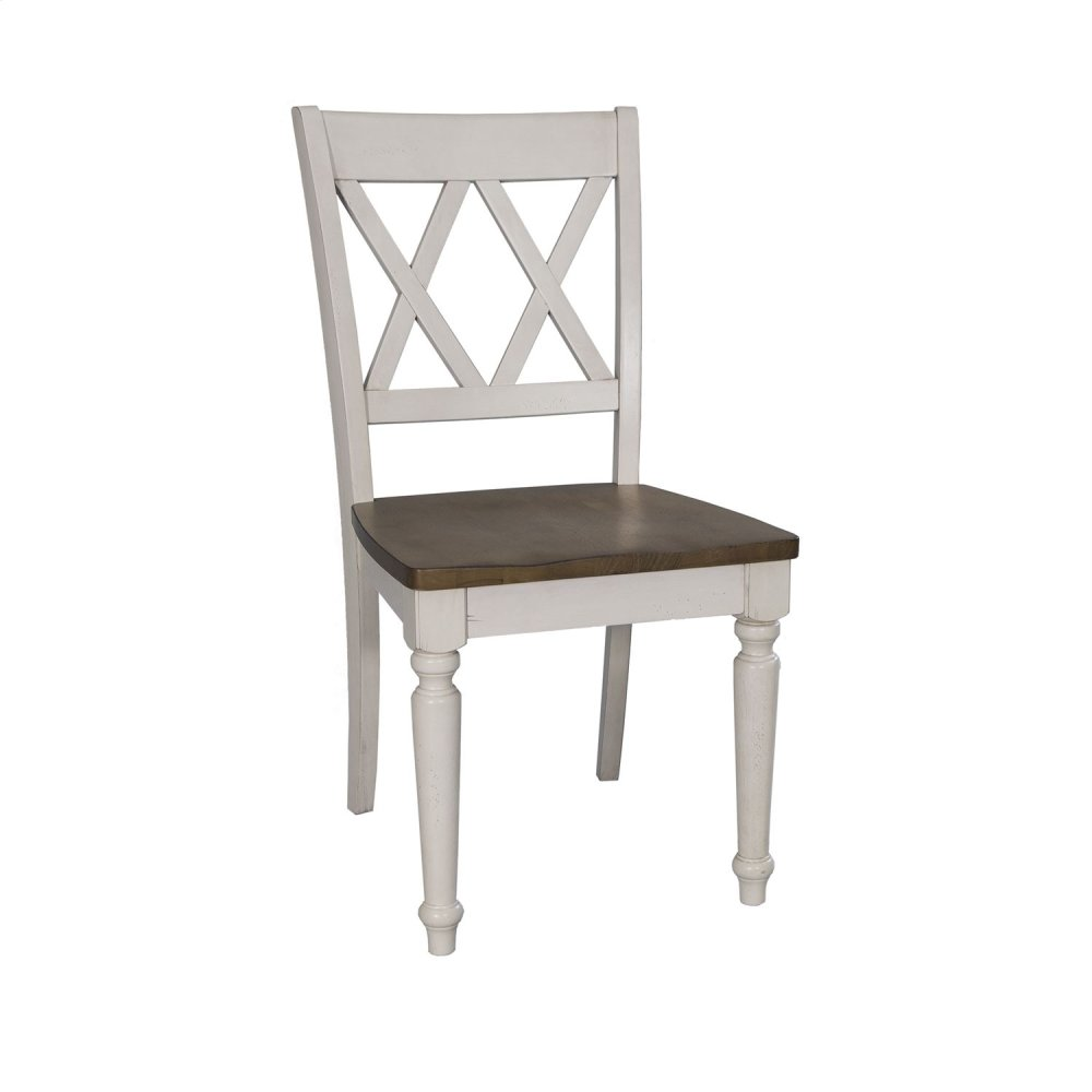 double x back chairs chair covers for dining room table 841c3000s in by liberty furniture industries hopkinsville ky side rta