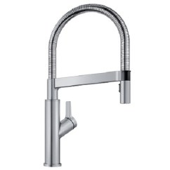 Professional Kitchen Faucet Slate 401991 In Stainless Finish By Blanco New York City Ny Solenta Semi