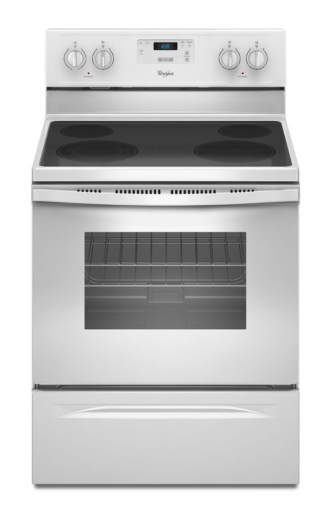 hight resolution of 4 8 cu ft freestanding electric range with flexheat dual radiant element