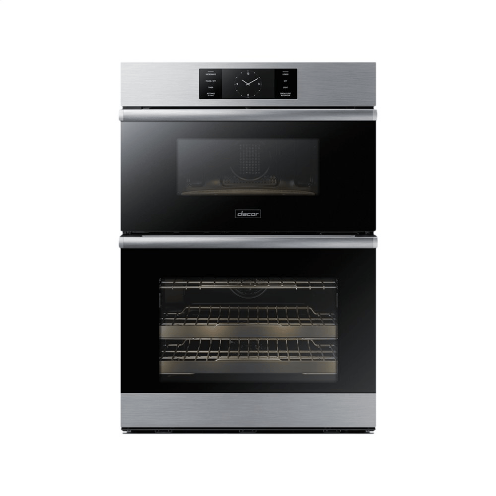hight resolution of 30 combi wall oven graphite stainless stee