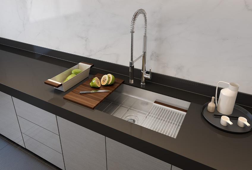 27 kitchen sink islands with wheels 005451 in by julien new milford ct smartstation undermount stainless steel 18 1 8
