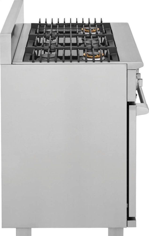 hight resolution of hidden additional electrolux icon 36 dual fuel freestanding range