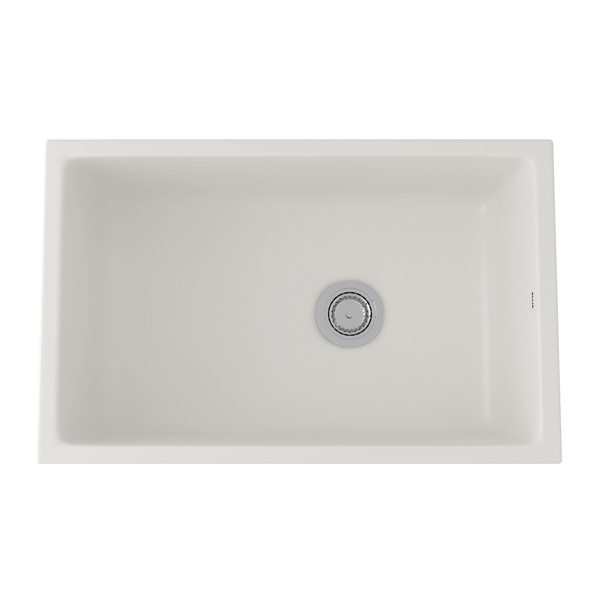 rohl kitchen sinks delta 630768 in pergame biscuit by new milford ct allia fireclay single bowl undermount sink
