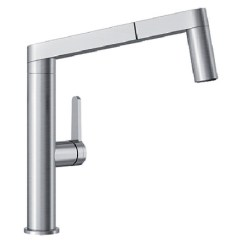 Kitchen Faucets Stainless Steel Mid Century Modern Cabinets 402043 In By Blanco Ottawa On Panera Faucet