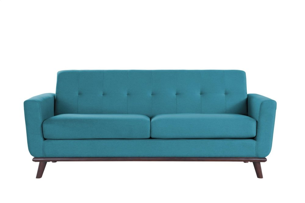 blue fl sofa best mattress bed 9814bu3 in by homelegance kissimmee