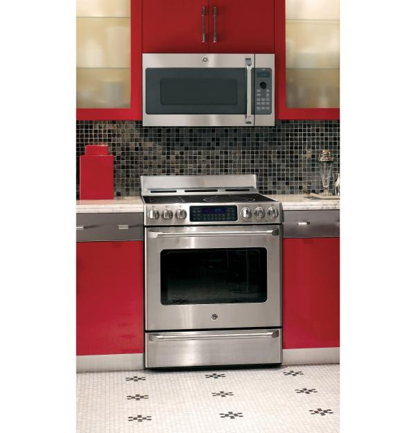 GE Cafe Over the Range Microwave Oven