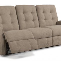 Reclining Sofa With Nailhead Trim Huffman Koos Bed 388262 In By Flexsteel Casper Wy Devon Leather Without